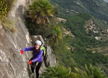 Via ferrata Roca Blanca
